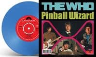 THE WHO Pinball Wizard Vinyl Record 7 Inch Polydor 2019 Blue Vinyl
